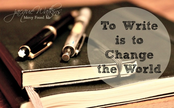 To-Write-is-to-Change-the-World